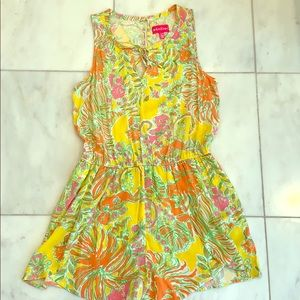 Lilly Pulitzer for target romper multicolored